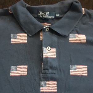 Polo by Ralf Lauren American flag shirt